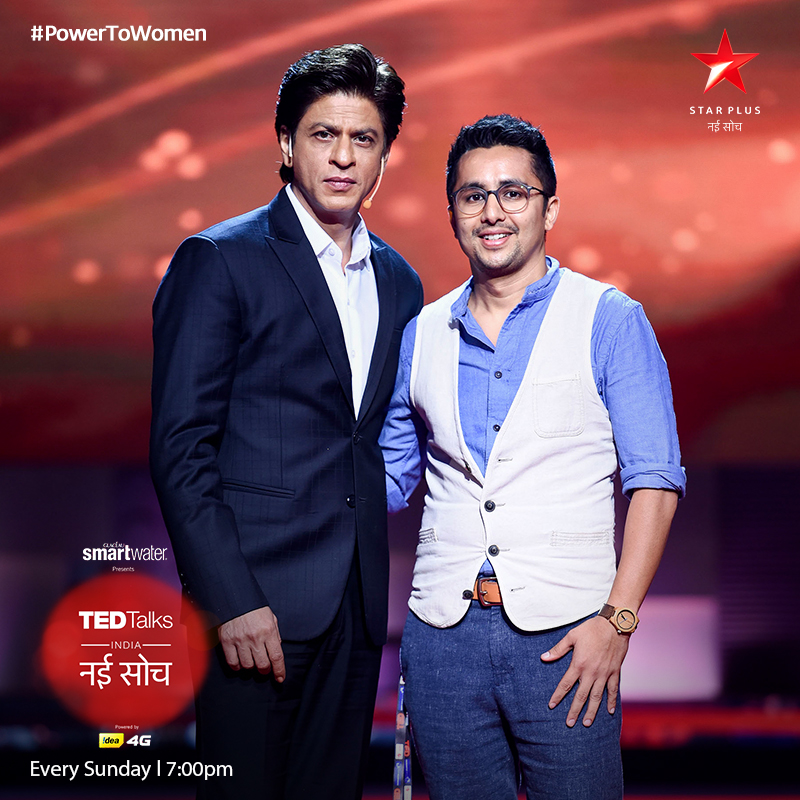 Mihir Shah TED Talk with SRK